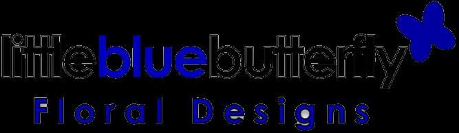 Little Blue Butterfly Floral Designs