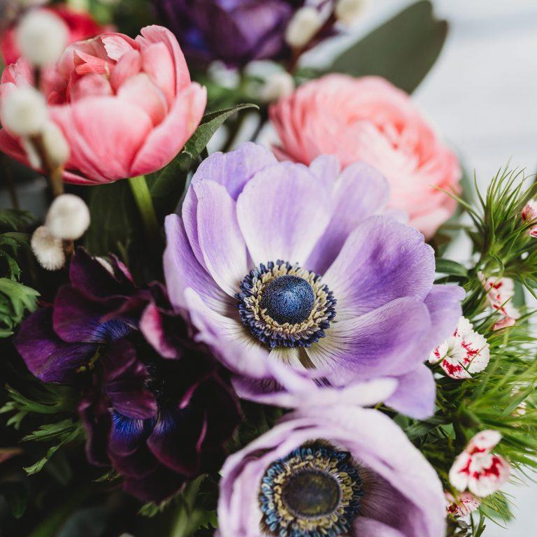 Virtual Seasonal Summer Hand Tied Vase Arrangement